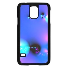 Love In Action, Pink, Purple, Blue Heartbeat 10000x7500 Samsung Galaxy S5 Case (black) by DianeClancy