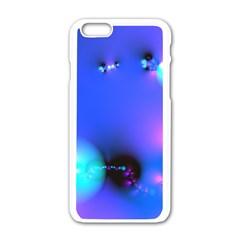 Love In Action, Pink, Purple, Blue Heartbeat 10000x7500 Apple Iphone 6 White Enamel Case by DianeClancy