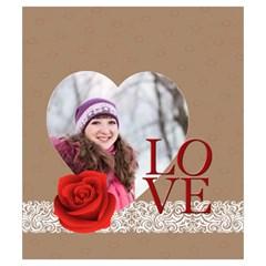 Love By Ki Ki   Drawstring Pouch (small)   47s8c142uqx4   Www Artscow Com Front