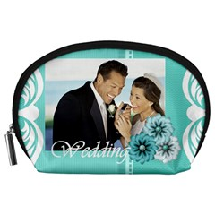 Wedding By Wedding   Accessory Pouch (large)   Icpsbwy27x9x   Www Artscow Com Front