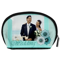 Wedding By Wedding   Accessory Pouch (large)   Icpsbwy27x9x   Www Artscow Com Back