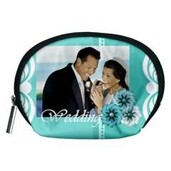 Wedding By Wedding   Accessory Pouch (medium)   Ahzad0k3l0w2   Www Artscow Com Front
