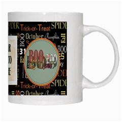 Spooky Mug By Lisa Minor   White Mug   P13zzeu5c0q3   Www Artscow Com Right