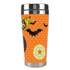 Spooky Travel Mug By Lisa Minor   Stainless Steel Travel Tumbler   Kasfug5hfpah   Www Artscow Com Right