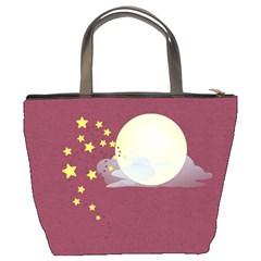 Spooky Bucket Bag By Lisa Minor   Bucket Bag   70k0ponjy5n0   Www Artscow Com Back