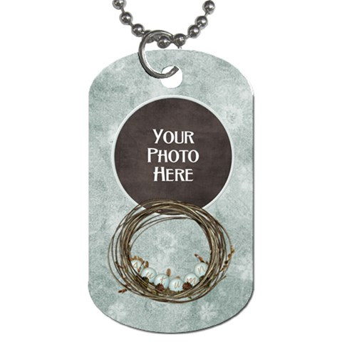 Autumn s Pleasure Dog Tag By Lisa Minor   Dog Tag (one Side)   Ebngweumndji   Www Artscow Com Front