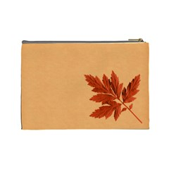 Ode To Autumn Large Cosmetic Bag By Lisa Minor   Cosmetic Bag (large)   Turu8in6q4p5   Www Artscow Com Back