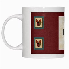 Ode To Autumn Mug By Lisa Minor   White Mug   Xqcpb5h8cyl0   Www Artscow Com Left