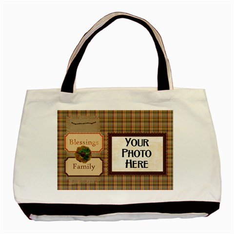 Ode To Autumn Tote By Lisa Minor   Basic Tote Bag   E1hg9307hftj   Www Artscow Com Front