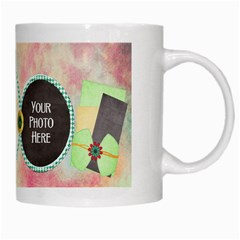 Lively Mug By Lisa Minor   White Mug   0s4calh9o59n   Www Artscow Com Right