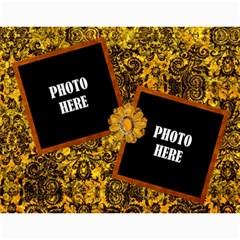2015 Arabian Spice Calendar 1 By Lisa Minor   Wall Calendar 11  X 8 5  (12 Months)   6xc9xdww5mgk   Www Artscow Com Month
