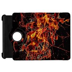 On Fire Kindle Fire Hd 7  (1st Gen) Flip 360 Case by dflcprints
