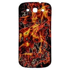 On Fire Samsung Galaxy S3 S Iii Classic Hardshell Back Case by dflcprints