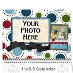 2015 Learn Discover Explore Calendar - Wall Calendar 11  x 8.5  (12-Months)