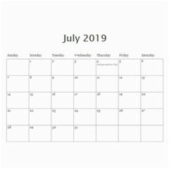 2015 My Blue Inspiration Calendar By Lisa Minor   Wall Calendar 11  X 8 5  (12 Months)   R1kipzg1gts8   Www Artscow Com Jul 2015