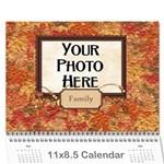 2015 Calendar Mix c - Wall Calendar 11  x 8.5  (12-Months)