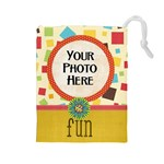 May I? Drawstring Pouch - Drawstring Pouch (Large)