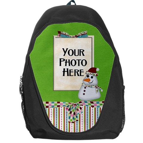 Christmas Dazzle Backpack By Lisa Minor   Backpack Bag   Ojqylo8rdgk9   Www Artscow Com Front