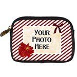 Christmas Dazzle Camera Case - Digital Camera Leather Case