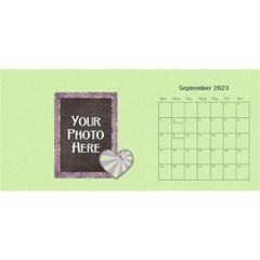 2015 Lavendar Rain 11x5 Calendar By Lisa Minor   Desktop Calendar 11  X 5    Dbc3jmw2qbj1   Www Artscow Com Sep 2015