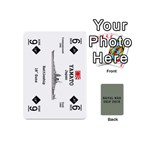 naval war ship deck - Playing Cards 54 (Mini)