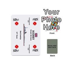 Naval War Ship Deck By Scott Hill   Playing Cards 54 (mini)   Uzt3b8lz3wx9   Www Artscow Com Front - Heart2