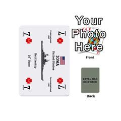 Queen Naval War Ship Deck By Scott Hill   Playing Cards 54 (mini)   Uzt3b8lz3wx9   Www Artscow Com Front - DiamondQ
