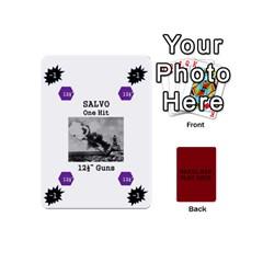 Naval War Play Deck 1 By Scott Hill   Playing Cards 54 (mini)   Vooaeqnj0rdm   Www Artscow Com Front - Heart4