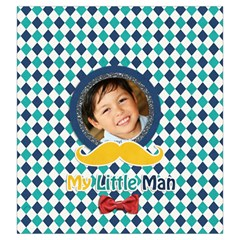 Drawstring Pouch (l): Little Man By Jennyl   Drawstring Pouch (large)   Klcnjhe5y2bn   Www Artscow Com Front
