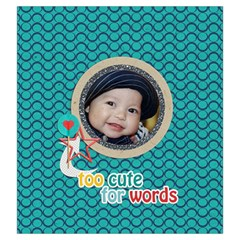Drawstring Pouch (l): Too Cute By Jennyl   Drawstring Pouch (large)   3gw70xc0vqe5   Www Artscow Com Front