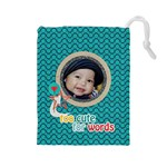 Drawstring Pouch (L): Too Cute - Drawstring Pouch (Large)