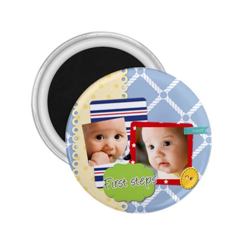 Baby By Baby   2 25  Magnet   4ls8o77tdt00   Www Artscow Com Front