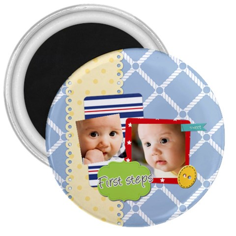 Baby By Baby   3  Magnet   Lr19agsr4b2c   Www Artscow Com Front