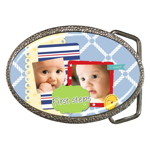 Baby By Baby   Belt Buckle   G4k0b4wstigc   Www Artscow Com Front