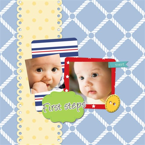 Baby By Baby   Scrapbook Page 8  X 8    8m0q2qvzqrco   Www Artscow Com 8 x8 Scrapbook Page - 1