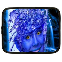 Water Nymph Netbook Sleeve (large) by icarusismartdesigns