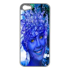 Water Nymph Apple Iphone 5 Case (silver) by icarusismartdesigns