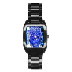 Water Nymph Stainless Steel Barrel Watch by icarusismartdesigns