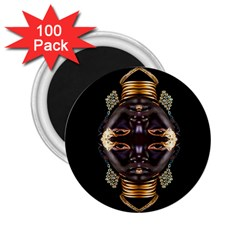 African Goddess 2 25  Button Magnet (100 Pack) by icarusismartdesigns