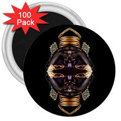 African Goddess 3  Button Magnet (100 Pack) by icarusismartdesigns