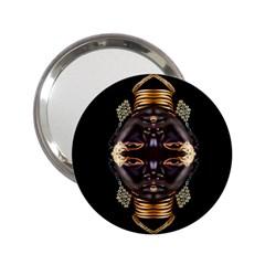 African Goddess Handbag Mirror (2 25 ) by icarusismartdesigns