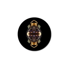 African Goddess Golf Ball Marker by icarusismartdesigns