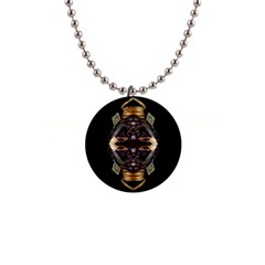 African Goddess Button Necklace by icarusismartdesigns