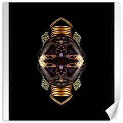 African Goddess Canvas 20  X 20  (unframed)