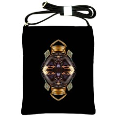 African Goddess Shoulder Sling Bag by icarusismartdesigns