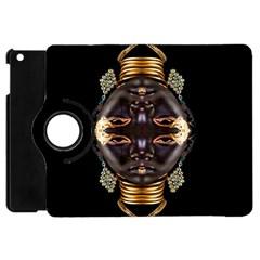 African Goddess Apple Ipad Mini Flip 360 Case by icarusismartdesigns