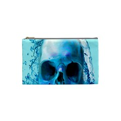 Skull In Water Cosmetic Bag (small)