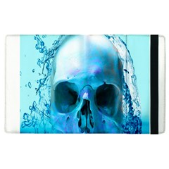 Skull In Water Apple Ipad 3/4 Flip Case by icarusismartdesigns