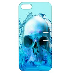 Skull In Water Apple Iphone 5 Hardshell Case With Stand by icarusismartdesigns