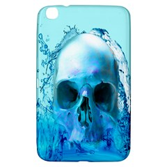 Skull In Water Samsung Galaxy Tab 3 (8 ) T3100 Hardshell Case  by icarusismartdesigns